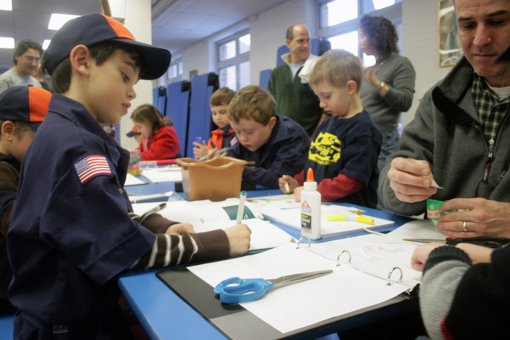 Round Two Cub Scout Recruiting